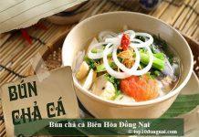 Bún chả cá Biên Hòa Đồng Nai
