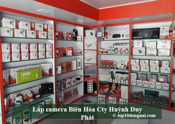 Lắp camera Biên Hòa Cty Huỳnh Duy Phát