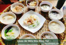 Quán chè Biên Hòa Đồng Nai